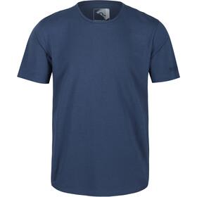 Regatta Tait Camiseta Hombre, azul